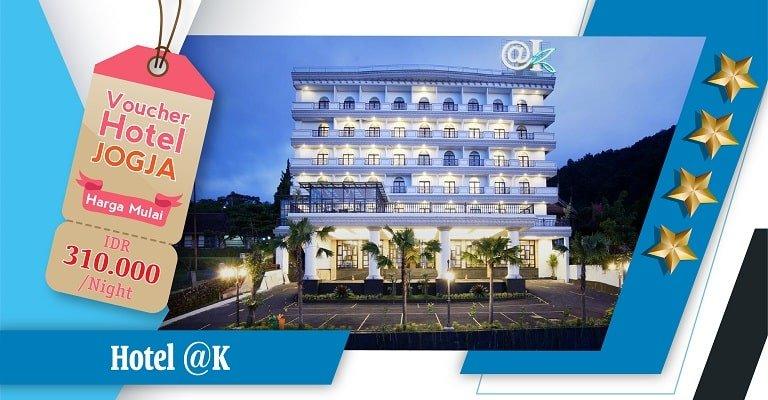 voucher hotel @k
