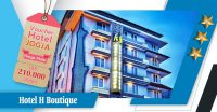voucher hotel h boutique