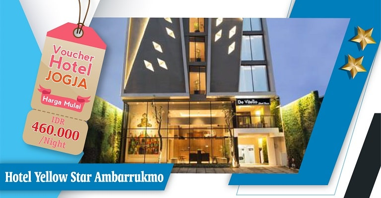 voucher hotel yellow star ambarrukmo