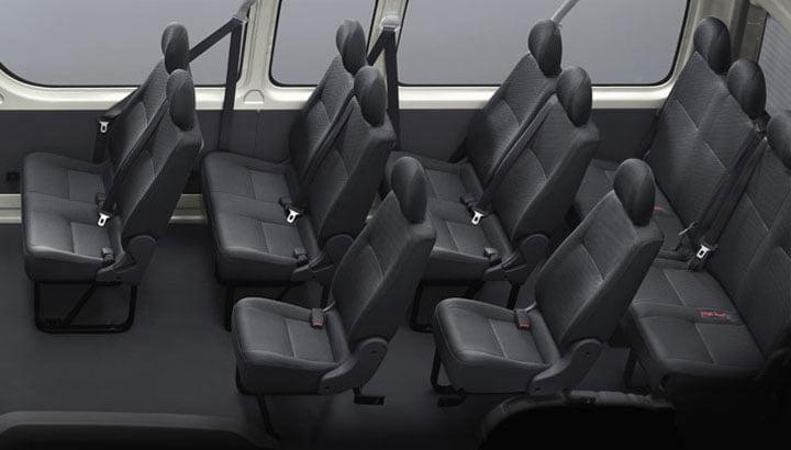 minibus hiace