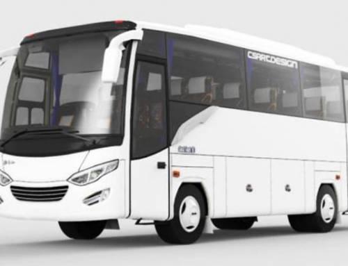 Sewa Medium Bus Pariwisata Jogja Kapasitas 22-23 Seat