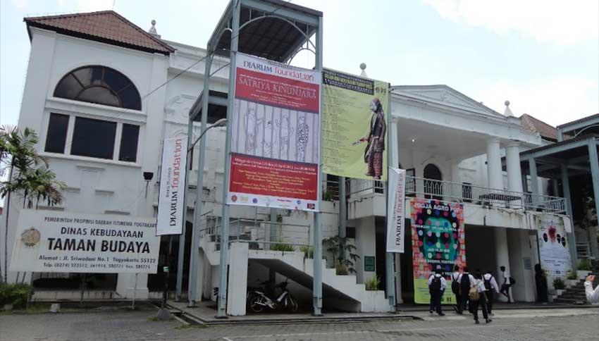 Lokasi Taman Budaya Jogja