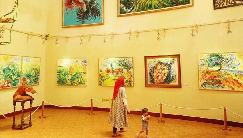 Wisata Museum Affandi