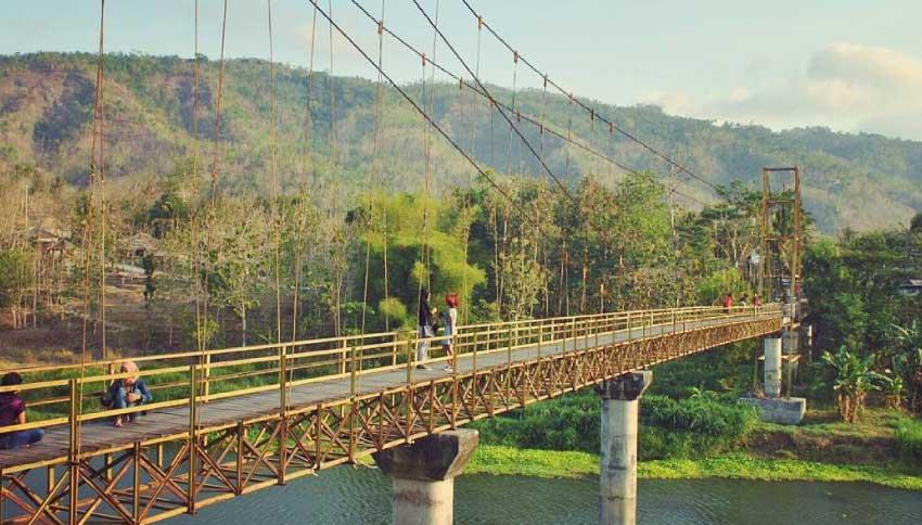 Jembatan Soka Bantul Yogyakarta