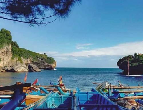 Pantai Drini, Keindahan Pulau Karang di Tengah Laut