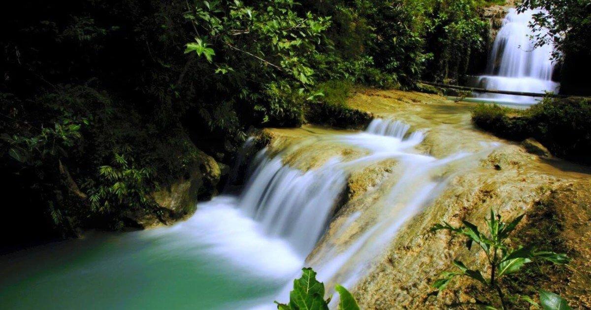 Lokasi Air Terjun Lepo