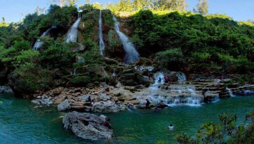 Lokasi Air Terjun Sri Gethuk