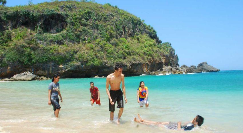 Pantai Ngobaran Balinya Jogja