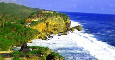 Pantai Ngobaran Gunungkidul Jogja