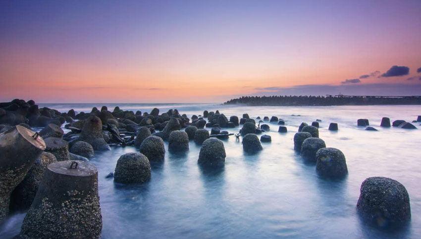 Pemandangan Alam Pantai Glagah