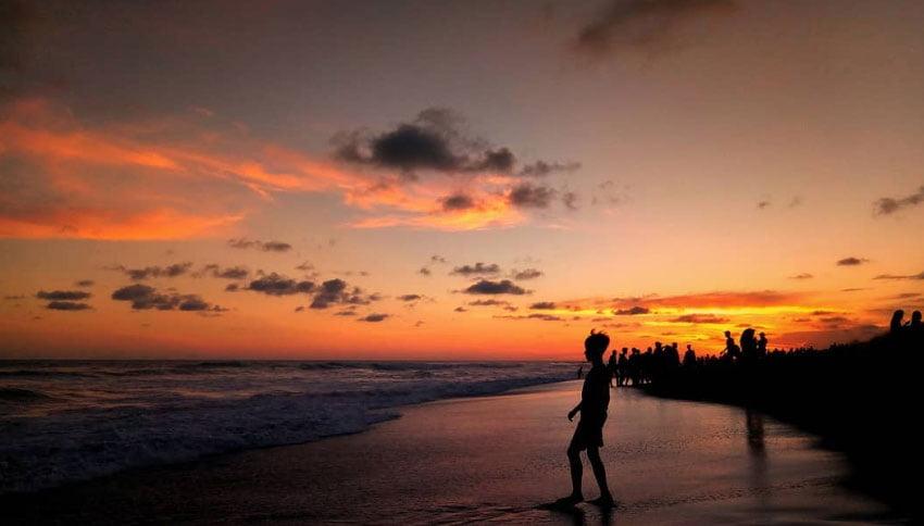 Sunset Pantai Depok Jogja