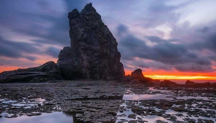 Sunset Pantai Watu Lumbung