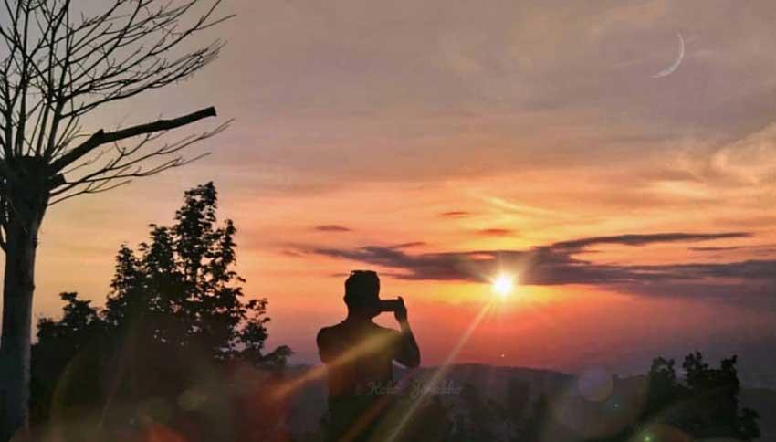 Sunset di Watu Amben
