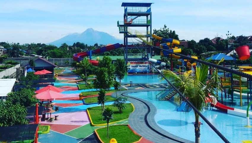 Wisata Galaxy Waterpark Jogja