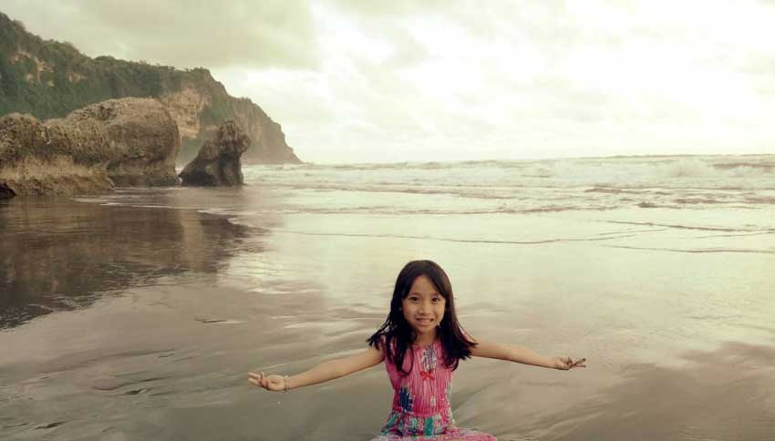 Wisatawan Pantai Parangtritis Jogja