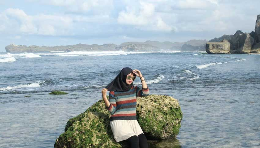 Lokasi Pantai Pulang Syawal