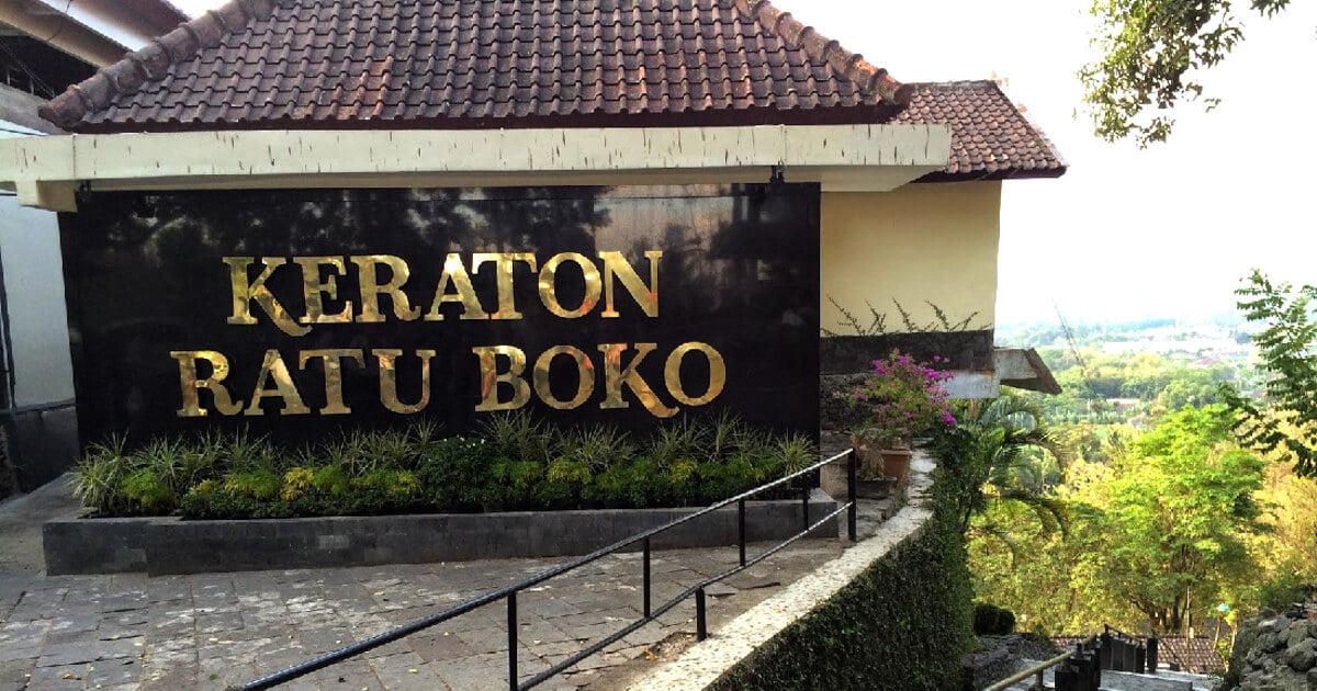 tiket Masuk Candi Ratu Boko