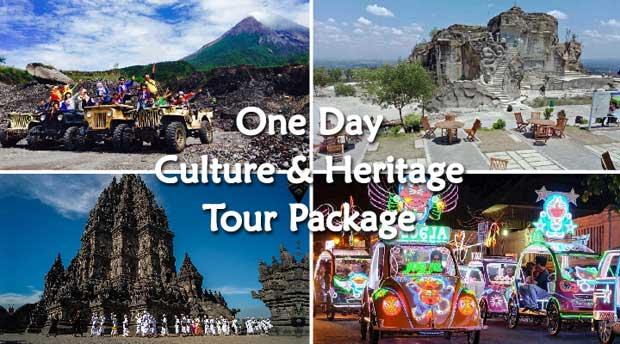 1D Tour Jogja Culture and Heritage