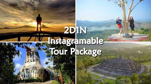 2D1N Tour Jogja Instagramable