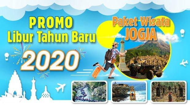 destinasi wisata jogja terbaru PROMO Spesial Paket Wisata Jogja Liburan Tahun Baru 2020